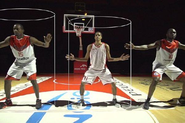 """Le principe des """"cylindres"""" en basket"""
