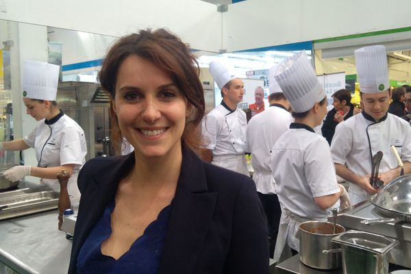La journaliste et présentatrice de Thalassa Fanny Agostini nous explique pourquoi elle croit aux circuits courts.