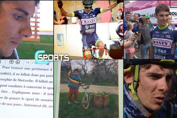 Cette semaine C sports consacre un portrait au coureur normand Guillaume Martin