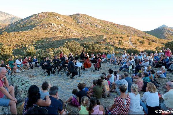 Concert à l'Aghja de Moncale, en 2017