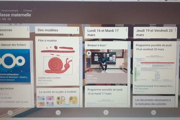 Durant le confinement, certains professeurs des écoles adoptent de nouveaux outils numériques pour assurer la continuité pédagogique.