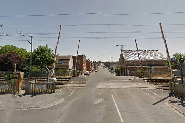 L'accident a eu lieu rue Delbecque à Liévin.