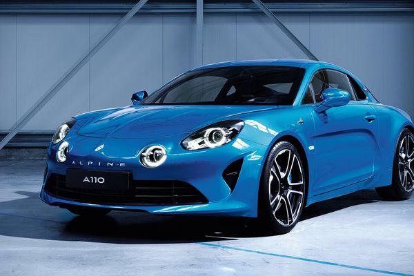 Le design de la nouvelle Renault Alpine A110 a été dévoilé par le groupe fin février.