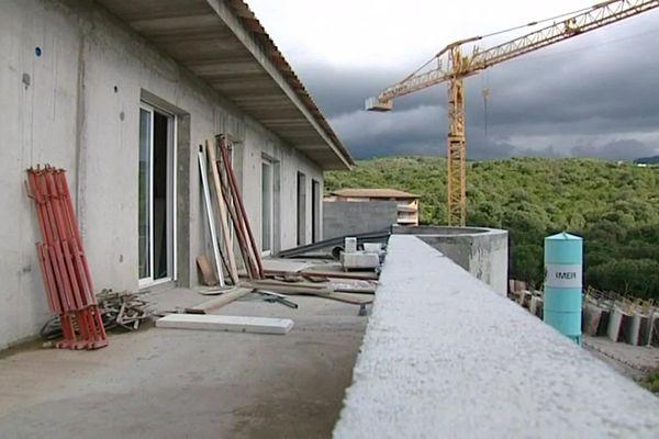Le projet Agula Marina comportait la création de 39 appartements à Albitreccia.
