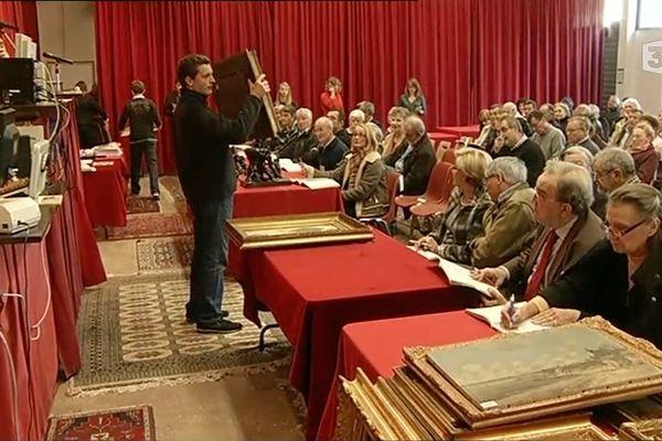 500 oeuvres de la collection Jouve ont été vendues aux enchères à Brest. Une vente hors du commun