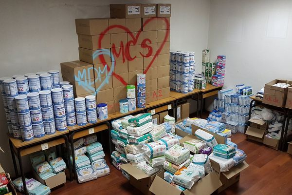Le collectif a identifié plus de 2000 bébés dans le besoin.