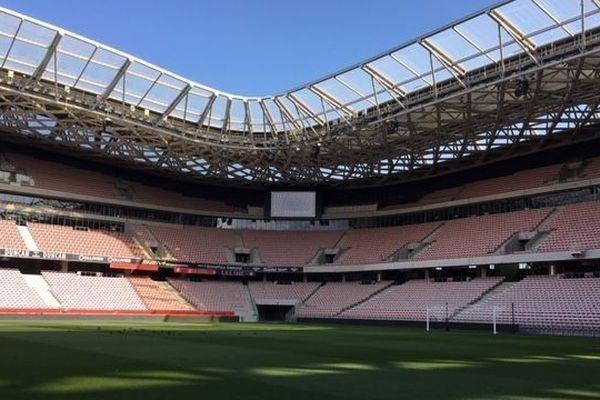 Le stade de l'Allianz Riviera sera vide : pas de public, pas de supporters pour le match OGC-Nice-PSG ce dimanche à 13h.