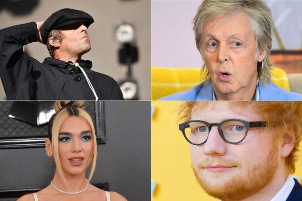 Liam Gallagher, Paul McCartney, Dua Lipa et Ed Sheeran font partie des signataires d'une lettre au gouvernement britannique appelant à sauver la scène musicale britannique.