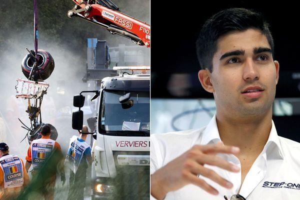 Juan Manuel Correa a été grièvement blessé lors d'un effroyable accident à Spa-Francorchamps fin août.
