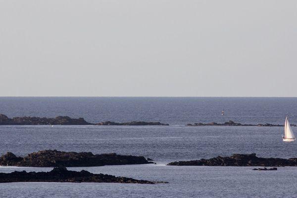 Mer calme sur Dinard