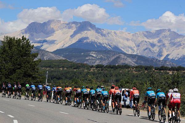 Le peloton lors de la 4e étape du Tour de France, le 1er septembre 2020.
