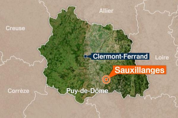 L'accident s'est produit vers 13h30 sur la route d'Issoire