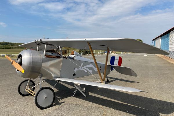 """Le Nieuport 17 alias """"super bébé"""" est un avion mythique de la Grande Guerre"""