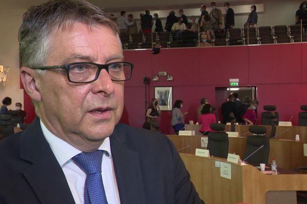 Philippe Bouty confirme qu'il quitte la présidence de la communauté de Charente Limousine.