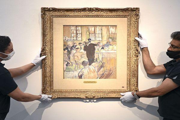 """Cette oeuvre rare de Toulouse-Lautrec, artiste albigeois, dépeignant l'univers hospitalier, est intitulée """"Une opération par le Docteur Péan à l'Hôpital international"""". Elle s'est vendue aux enchères le 29 juin dernier pour 883 000€ frais inclus. La vente a été remportée par un collectionneur européen."""