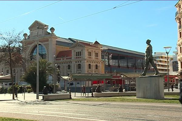 La gare du sud à Nice
