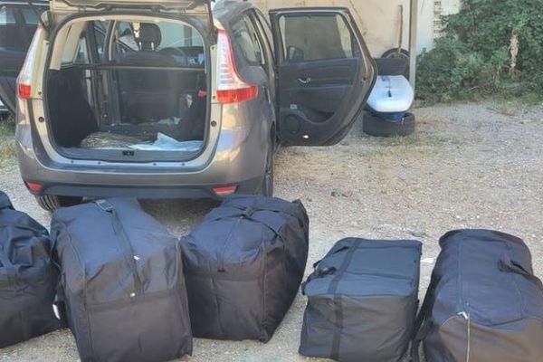 Catalogne : un Français arrêté entre Portbou et Cerbère avec 112kg de marijuana - août 2021.