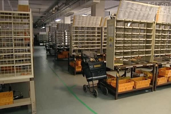 Le centre de distribution de La Poste du Vittulo à Ajaccio, le 27 mai dernier