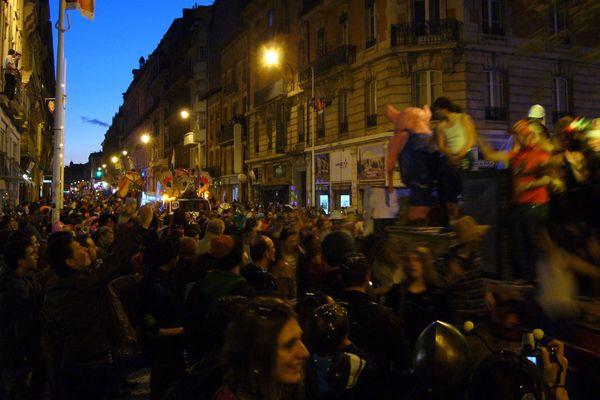 Lors d'une précédente édition du Carnaval de Toulouse.