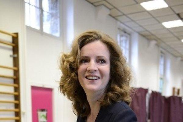 Nathalie Kosciusko-Morizet a voté ce dimanche matin dans le XIVe arrondissement.