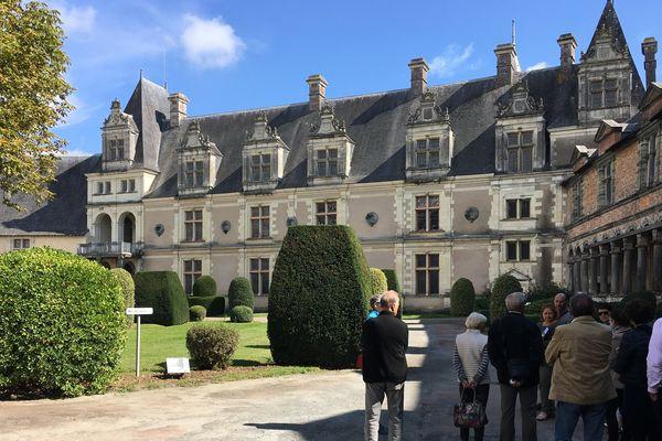 Le château renaissance de Châteaubriant (Loire-Atlantique), lors des journées européennes du patrimoine 2017