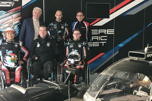 """L'équipage 100% handi qui devait s""""aligner pour la première fois aux 24h du Mans en 2020 a préféré renoncer."""