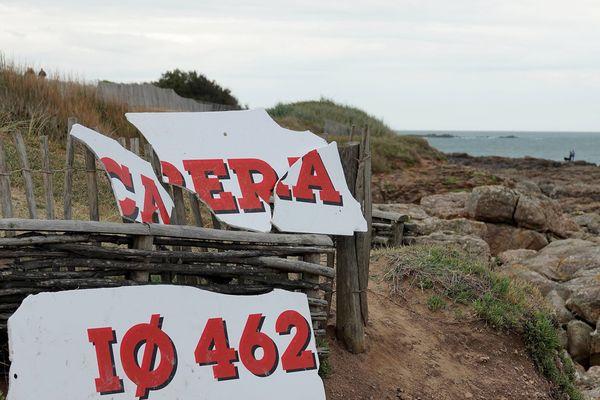 Les débris du chalutier Carrera retrouvés sur la côte, le 9 juin 2019