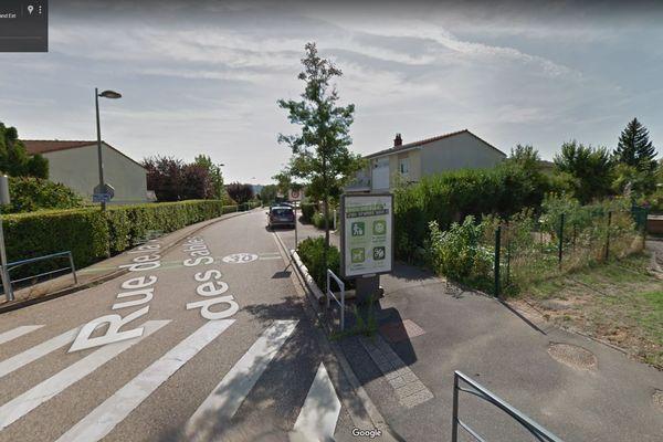 L'infirmière a été agressée rue Vigne des sables à Heillecourt (54)