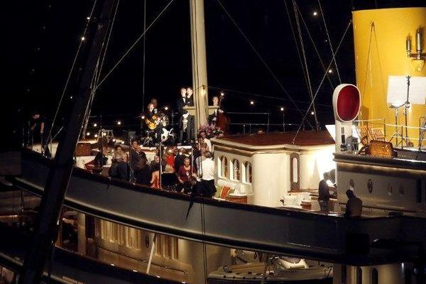 Octobre 2012, Olivier Dahan tourne une scène de son film à Nice.