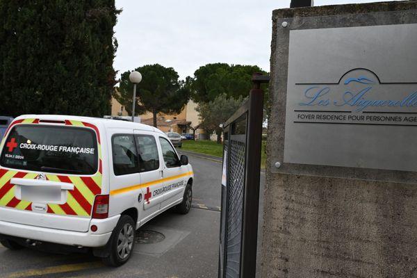 A l'Ehpad des Aiguerelles, à Mauguio dans l'Hérault, c'est l'inquiétude : déjà 11 résidents sont morts du Covid-19 au 29 mars.