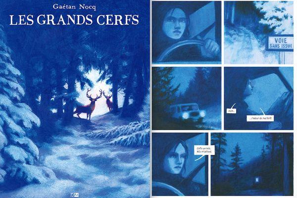Les Grands cerfs, de Gaétan Nocq. Editions Daniel Maghen.