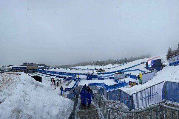 Cortina d'Ampezzo, dimanche 7 février