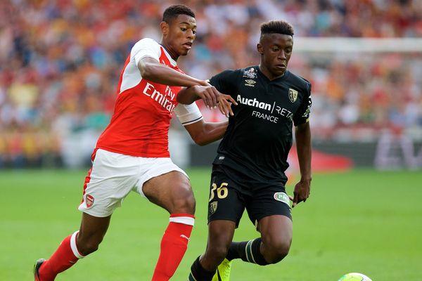 En quittant Lens pour Arsenal, Jeff Reine-Adélaïde (à gauche) a permis de sauver financièrement son club formateur