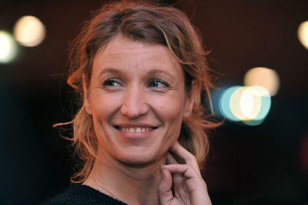 Alexandra Lamy, à Rennes, le 13 février 2014
