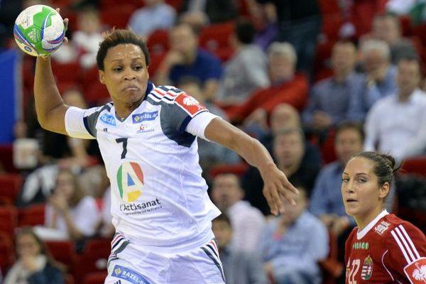 Allison Pineau, la demi-centre de l'équipe de France de handball - décembre 2014