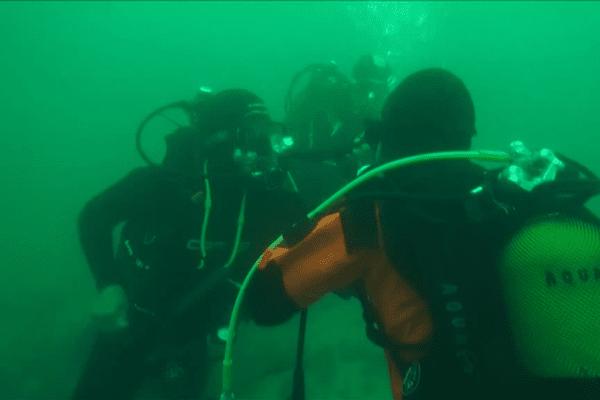 En plongée au large de Trébeureden