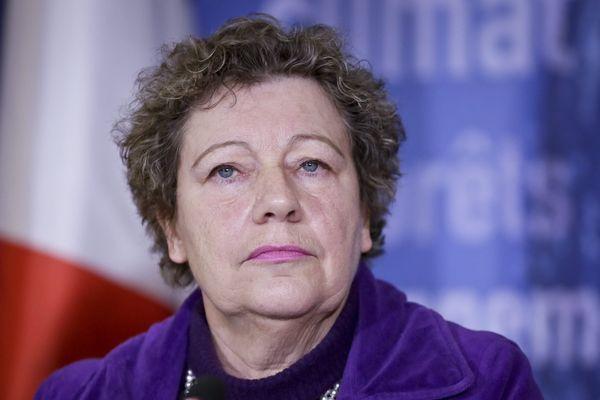 Marie-Christine Blandin, en janvier dernier.
