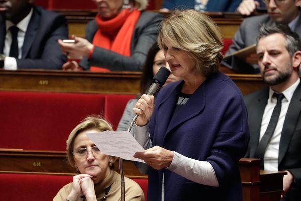 Elisabeth Toutut-Picard à l'Assemblée nationale (janvier 2019)