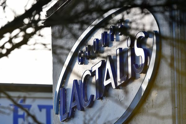 Le siège de Lactalis à Laval en Mayenne