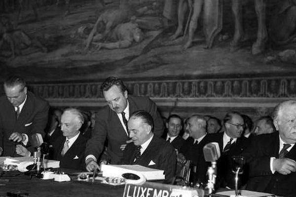 Signature du Traité de Rome le 25 mars 1957