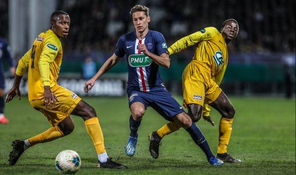 Le 8e de finale de coupe de France opposant le Pau FC au PSG, au stade du Hameau de Pau le 29 janvier 2020, restera l'un des grands moments de la saison 19-20