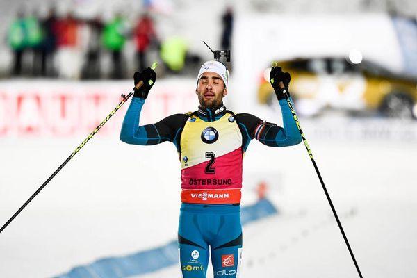 Première victoire de la saison pour le Catalan Martin Fourcade lors de la poursuite d'Östersund - 3 décembre 2017