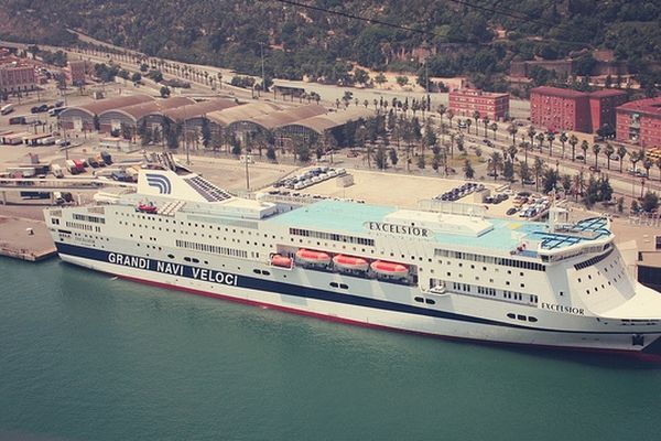 """Le navire """"Excelsior"""" remplaçant du """"Napoléon Bonaparte"""" pour la saison maritime 2013"""