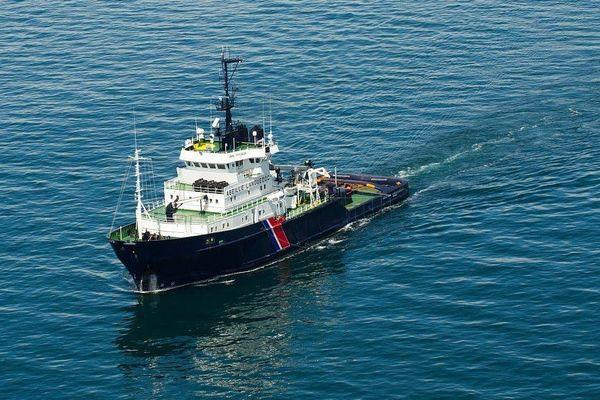 Le navire remorqueur Abeille Languedoc. Photo d'illustration.