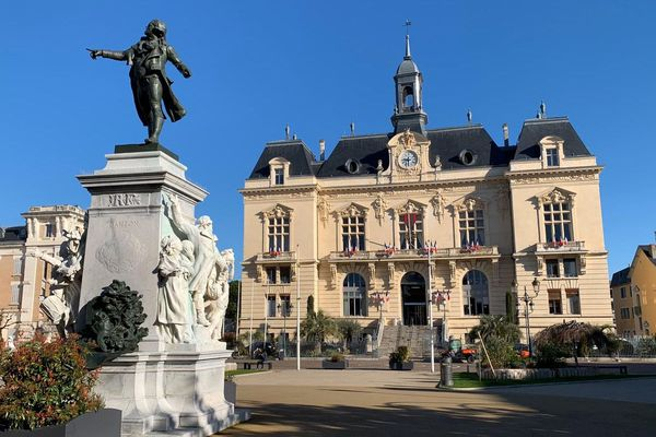 L'hôtel de ville de Tarbes, dans les Hautes-Pyrénées.