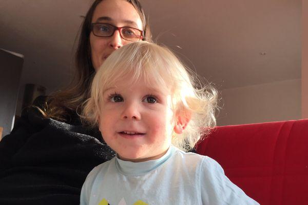 Aubin, en lice pour le concours du plus beau bébé Cadum