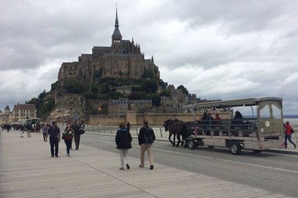 Le Mont-Saint-Michel à la veille du Grand Départ