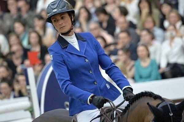 Pénélope Leprévost fait partie de la sélection tricolore pour le saut d'obstacles (ici en mars 2014 au Prix Hermès Paris)