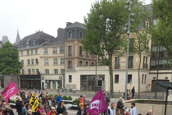 Manifestation 1er mai 2019 à Rouen.