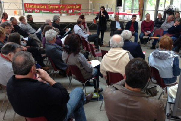 Les militants de Terre de Gauche aujourd'hui à Saint-Priest-Taurion